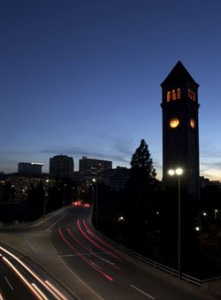 Photo of Spokane Clock Tower