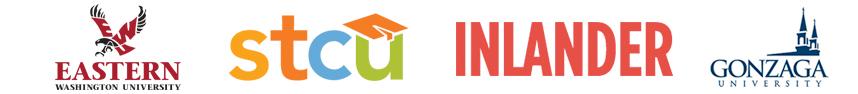 Presenting Sponsors: Eastern Washington University, STCU, The Inlander, Gonzaga University